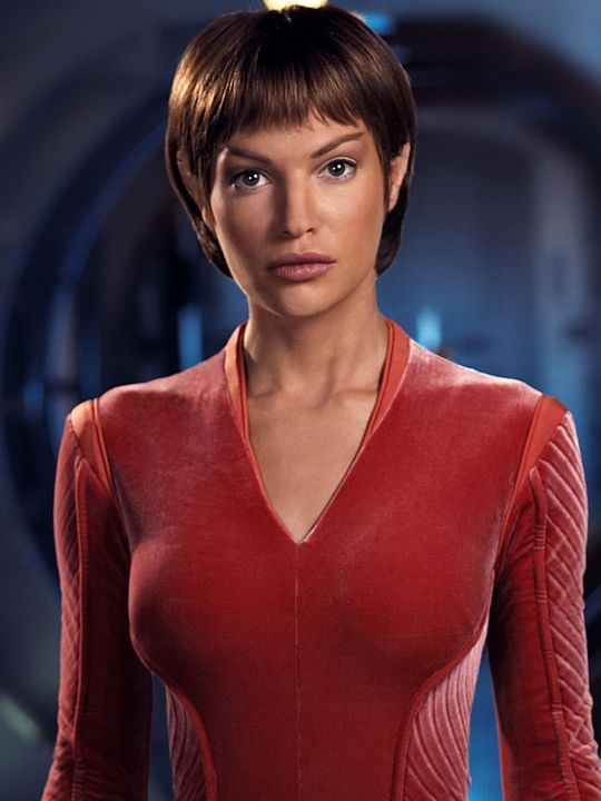 Star Trek: Enterprise Jolene Blalock as Sub-Commander T'Pol Source: Space / CTV Inc.