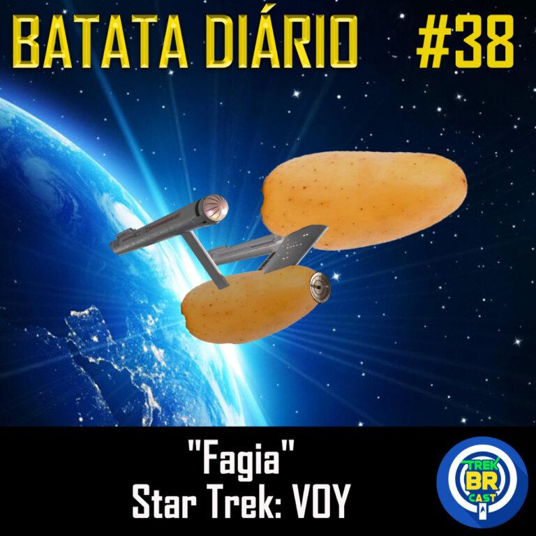 "Batata Diário #38 | Star Trek: Voyager – ""Phage"""